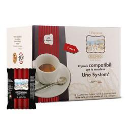 To.Da. Caffe' compatibile Uno Sistem da 100 pz miscela Dakar s