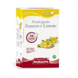 te' zenzero e limone astuccio da 18 cialde Sandemetrio s