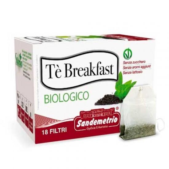 te' Breakfast Bio in astucci da 18 filtri Sandemetrio s