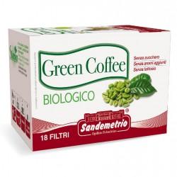 Green coffee in astuccio da 18 filtri Sandemetrio s