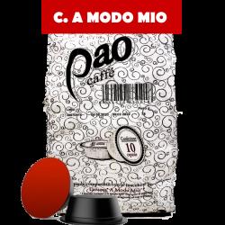 Pao caffe' capsule compatibili a modo mio da 80 pz s