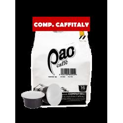 Caffe' Pao compatibili Caffitaly da 96 pz s