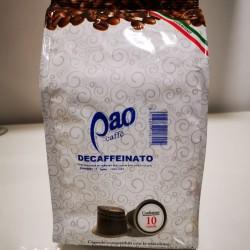 Pao caffe' decaffeinato compatibile nespresso da 10 pz s