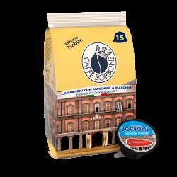 Caffe' Borbone compatibile Dolce Gusto da 90 capsule,miscela blu (nobile) s