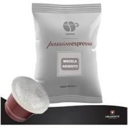 Caffe' Lollo compatibile Nespresso da 30 capsule.Miscela argento s