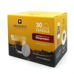 Caffe' Lollo box da 30 capsule compatibili Dolce Gusto Miscela argento